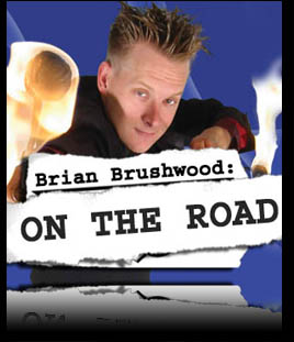 Brian Brushwood on the Road at BBOTR.COM
