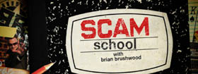 scam school - the only show dedicated to social engineering at the bar and on the street!